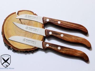 Küchnemesserset Holzgriff (Gerlinol) bei Schwazrwaldmesser