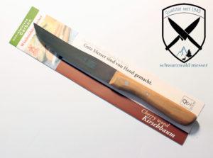 Universalmessser Fleischmesser nicht Rostfrei Kirschbaum bei Schwarzwald-Messer
