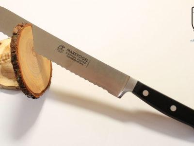 Brotmesser geschmiedet Pom Griff Marsvogel Solingen
