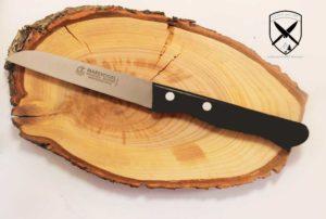 Küchenmesser gerade 10 cm Griff POM Marsvogel