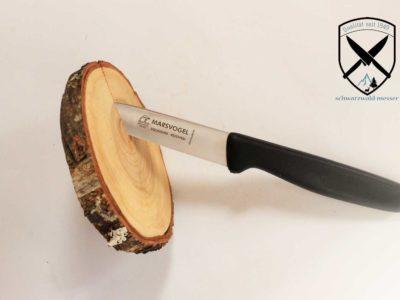 Küchenmesser Kunststoffgriff Schwarz Marsvogel
