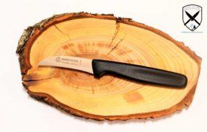 Küchen-Schälmesser Schwarz Marsvogel