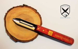 Doppelschäler Holzgriff für Links und Rechts