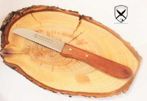 Küchenmesser Holzgriff mit Welle Marsvogel bei -schwarzwalmesser