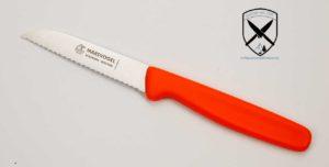 Küchenmesser mit Welle Orange Marsvogel