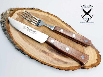 Brotzeitbesteck Holzgriff