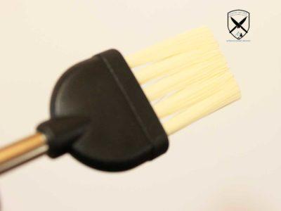 Back-Kuchenpinsel Edelstahlgriff