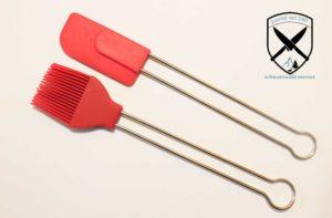 Teigschaber- klein/Backpinsel Silikon
