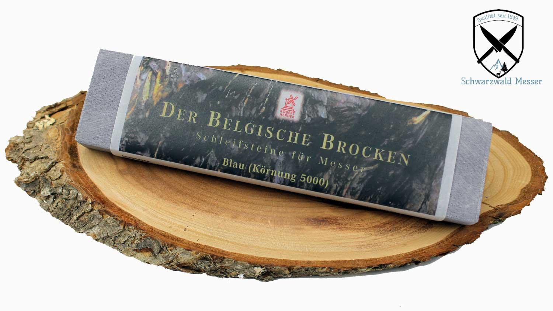 belgischer brocken schleifstein blau k rnung 5000 200x50 mm schwarzwald messer. Black Bedroom Furniture Sets. Home Design Ideas