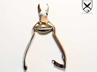 Fußnagelzange mit Pufferfeder 13,5 cm