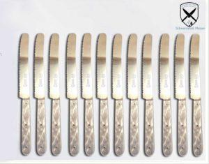Frühstücksmesser Brötchenmesser Perlmutt