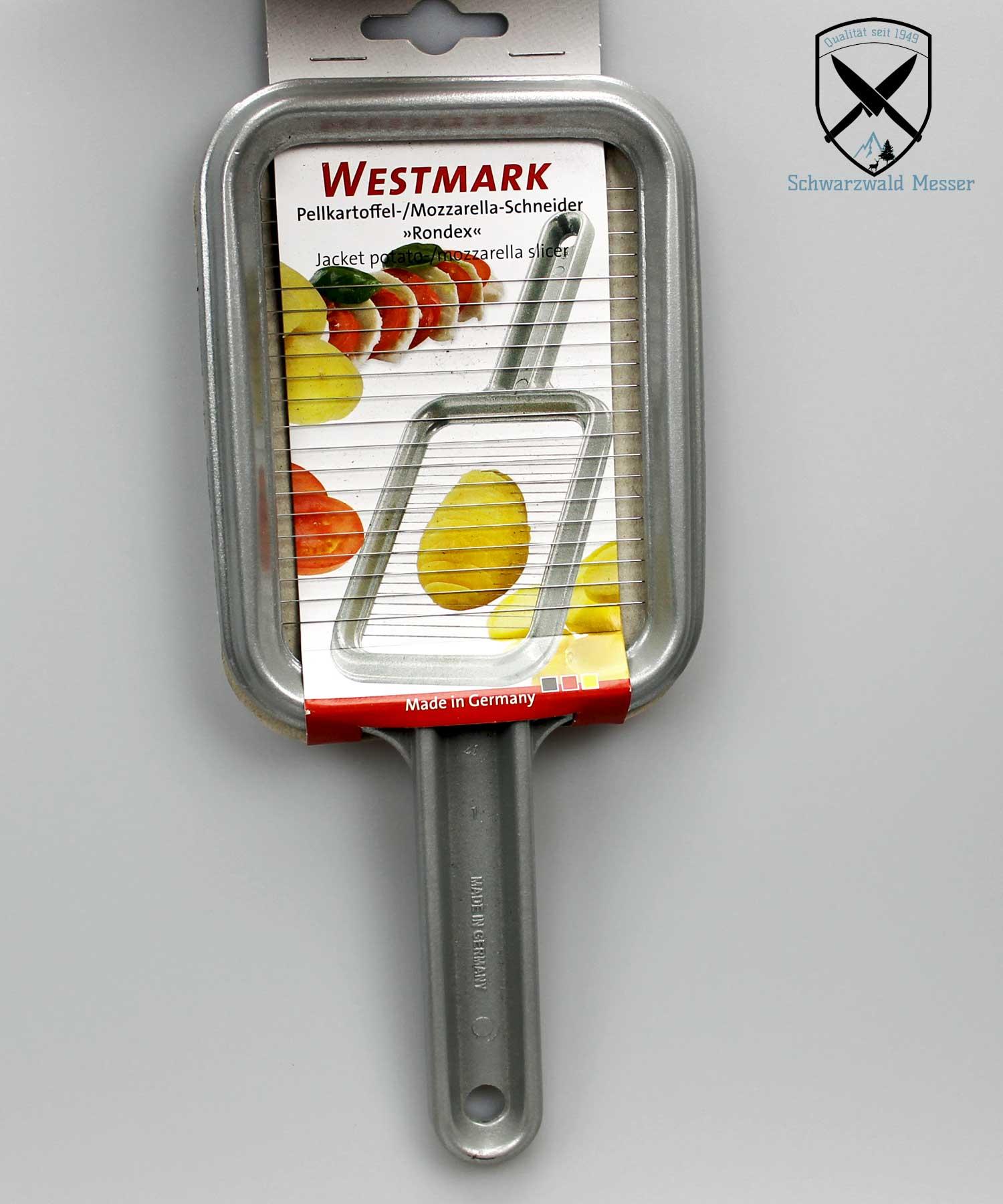 Mozzarella-Schneider Rondex Westmark Pellkartoffel-